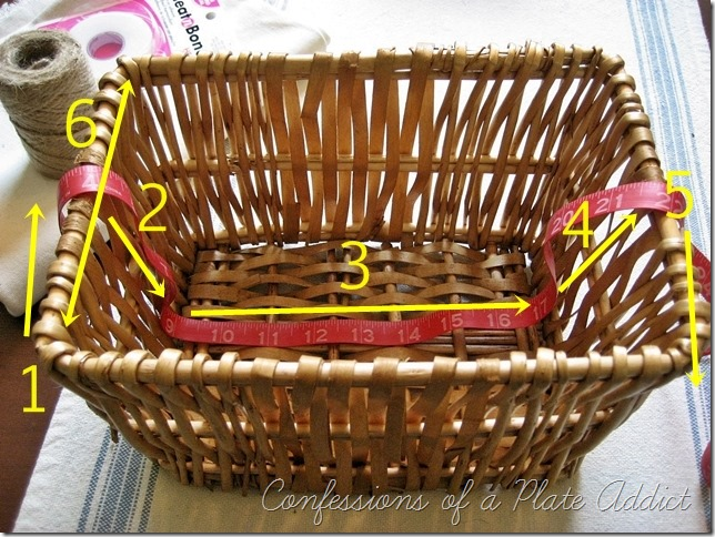 Measure basket1
