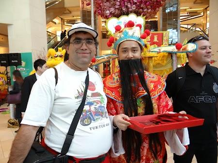 Anul Nou Chinezesc: Mos Craciun chinez