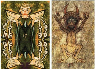 Codex Gigas in Affel's Notebook