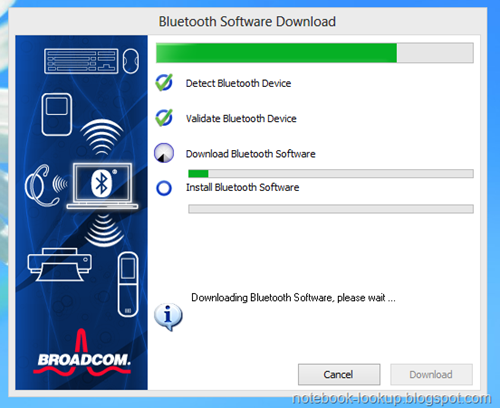 Bluetooth Broadcom Software Driver Download For Windows XP, vista, Win 7, Win 8