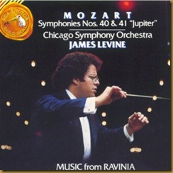 Mozart 40 41 Levine Chicago