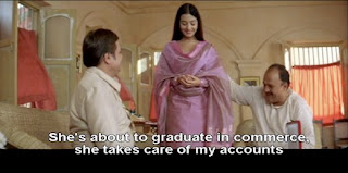 Poonam is about to graduate from college