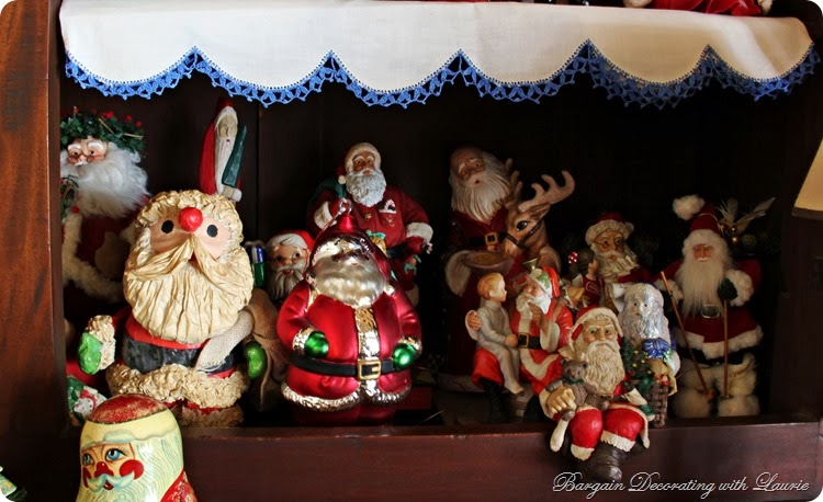 Santa Collection-Bargain Decorating with Laurie