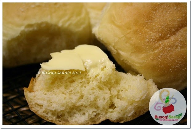 PANDESAL WITH BUTTER © BUSOG! SARAP! 2011
