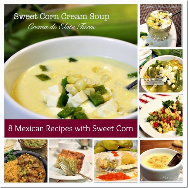 sweet corn creamy soup | Mexican Recipes