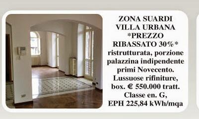 Bergamo centro villa zona Suardi vendesi