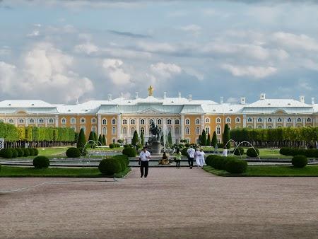 Obiective turistice Rusia: Palatul de la Peterhof
