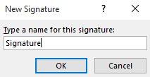 tạo chữ ký outlook