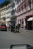 Kutsche in Karlovy Vary