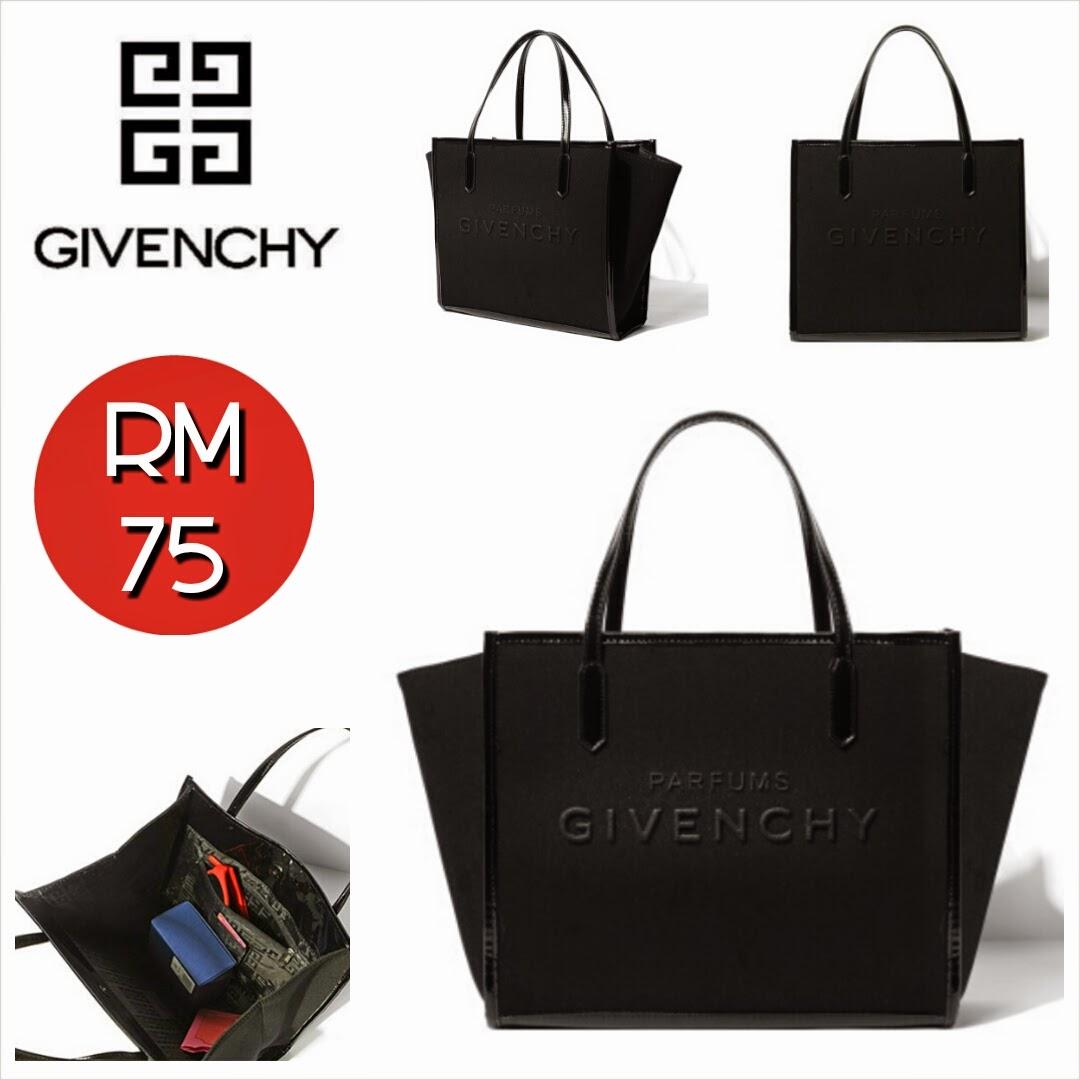 d42f84fa12e GIVENCHY Parfums Shopping Bag (Black) ~ SOLD OUT! - SHANTEK COLLECTION