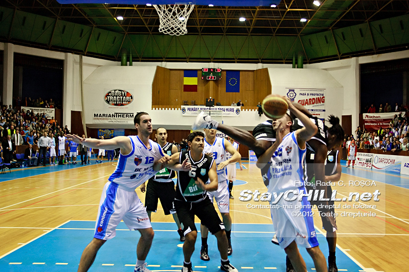 Branko Cuic / BC Mures - CSS Giurgiu, 27 octombrie 2012