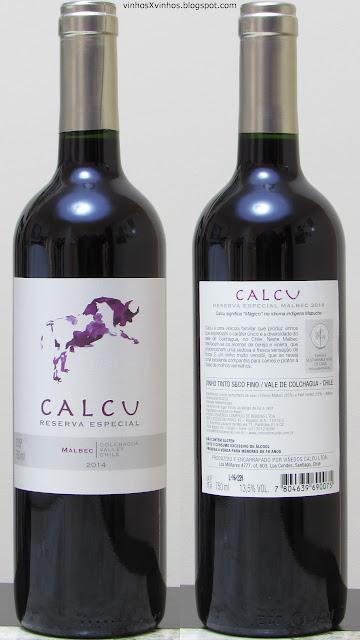 vinho Calcu Malbec