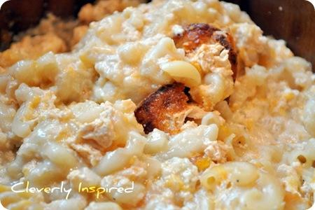 no stir crock pot macaroni and cheese