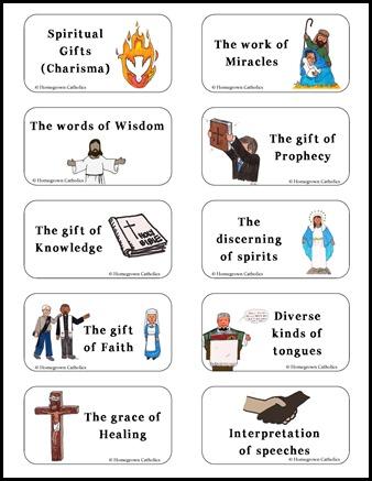 Nine Gifts Of The Holy Spirit Catholic – Gift Ftempo