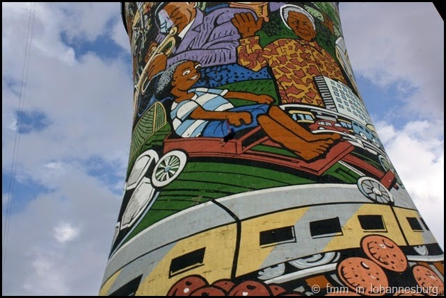 Power swinging from Orlando Towers