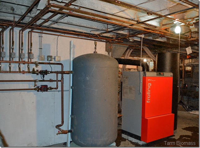 Featured Installation Froling P4 Fully Automatic Wood Pellet Boiler