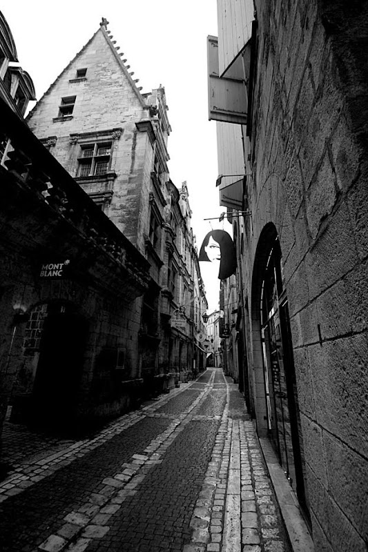Medieval city street france perigueux