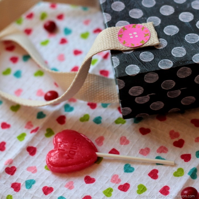 Cereal Box Purse  - Valentine's Day Child Tote via homework (9)
