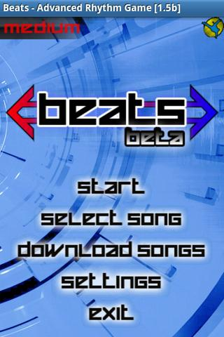Beats, Advanced Rhythm Game- screenshot