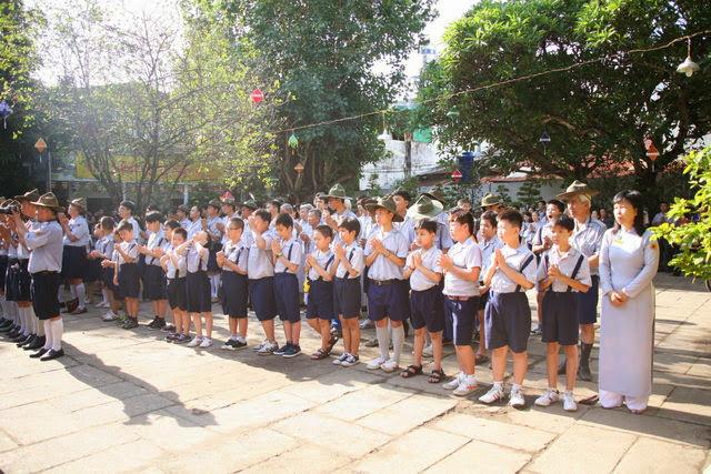 IMG 1737 Đại lễ Phật đản PL 2557 tại Tu viện Quảng Hương Già Lam