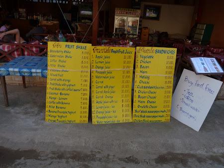 Preturi Laos: totul sub 2 euro