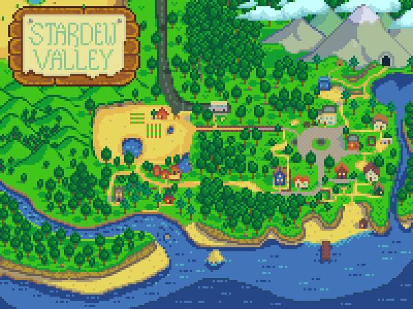 Indie Retro News Stardew Valley MinecraftRetro RPG Mash Up - Minecraft us map