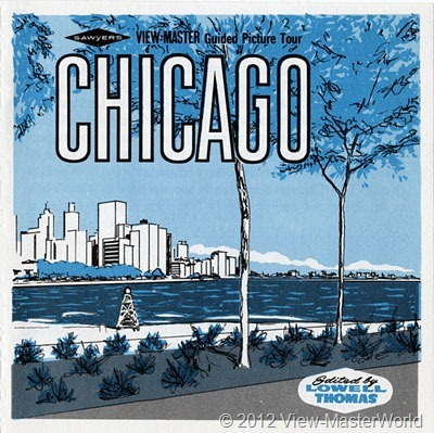 View-Master Chicago (A551), Booklet Cover
