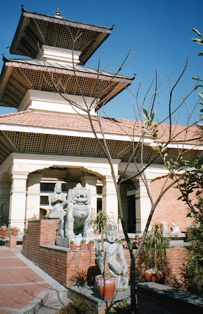 Imagini Nepal:  Hotel Hyatt Kathmandu.jpg