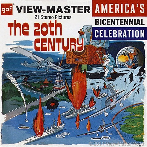 View-Master The 20th Century (B813), Packet Cover