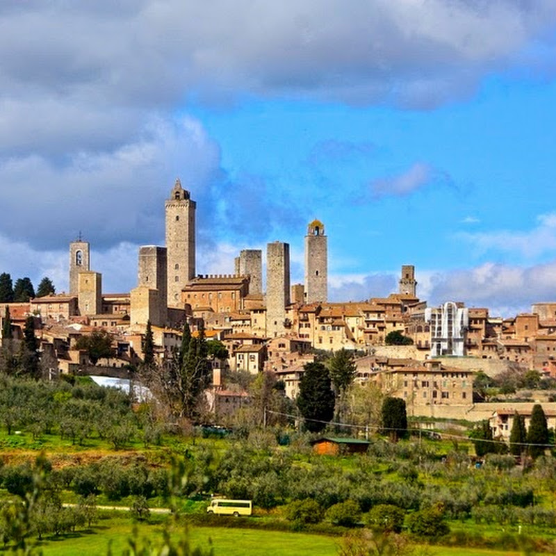 The Medieval Skyscrapers of San Gimignano