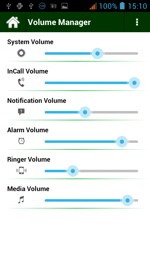 Volume Manager - screenshot