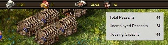Capacidade de população da sua aldeia.