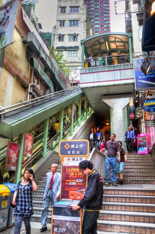 السلالم في هونج كونغ.. الأطول في العالم