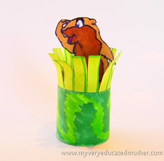 @mvemother #Groundhogday #crafting #kidscrafts
