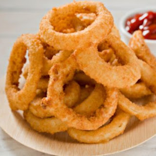 Crispy Onion Rings.