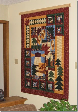 Canada Quilt - designed, pieced and hand quilted by Joanne Kerton