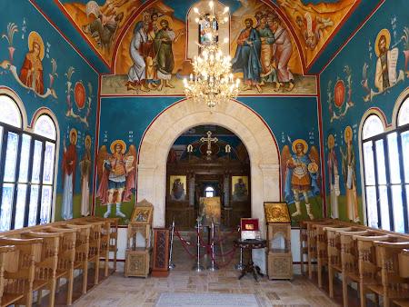 9Locul botezului lui Isus Hristos: Biserica ortodoxa la Iordan