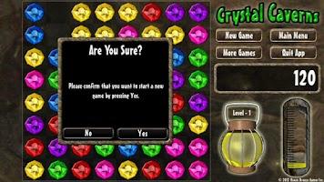 Screenshot of Crystal Caverns - FREE