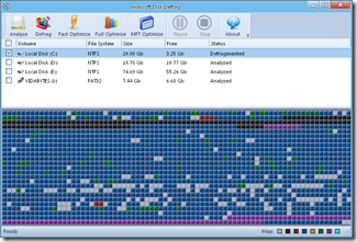 Janwsoft Disk Defrag