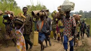 Population fuyant les FDLR