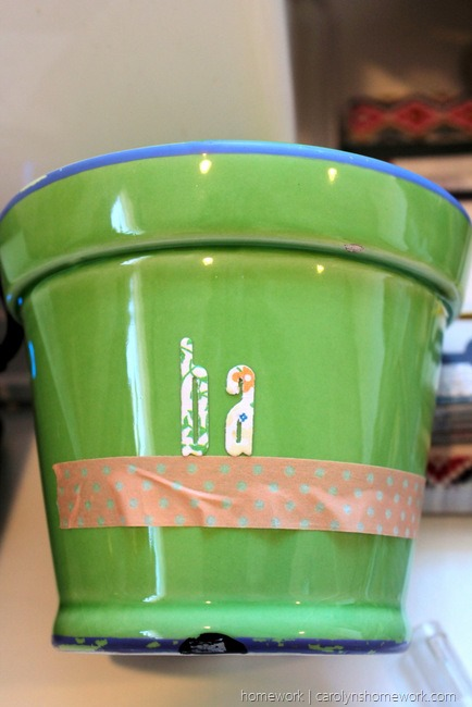 Lifestyle Crafts Herb Pot via homework - carolynshomework (5)