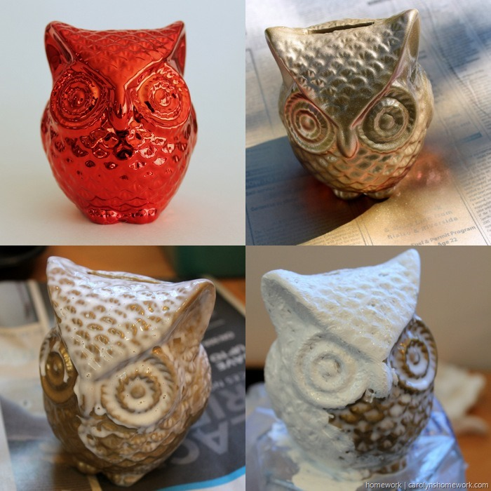 DIY Crackle Paint Owl via homework (1)