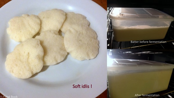 Idli batter fermentation in cold countries