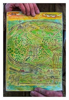 Die Karte vom Bray Head