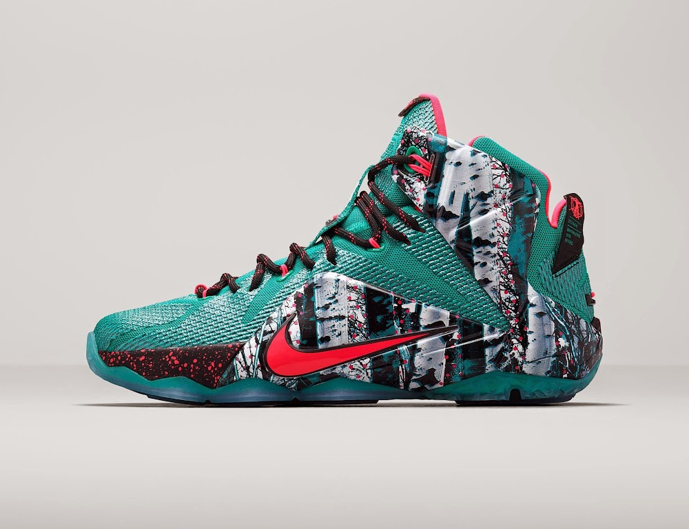 "official photos 7f1e5 aada8 ... Release Reminder  Nike LeBron 12 ""Christmas"" Collection"