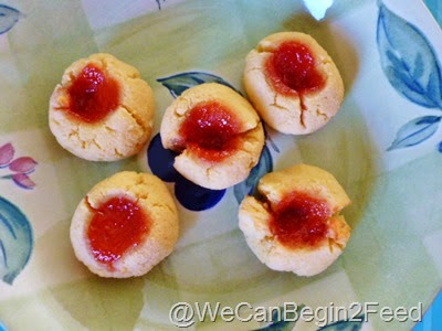Dec 7 Coconut Flour Thumbprint cookies 007