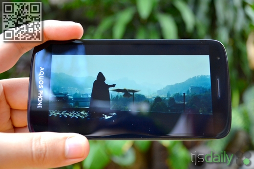 Sharp Aquos Phone SH930W Review Video