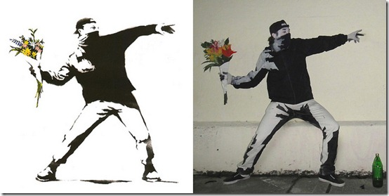 banksy costume comparison shot