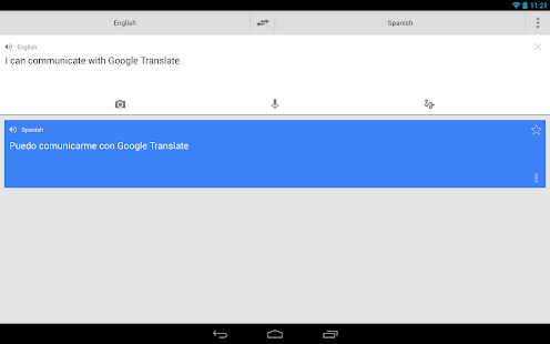 Google Translate - screenshot thumbnail