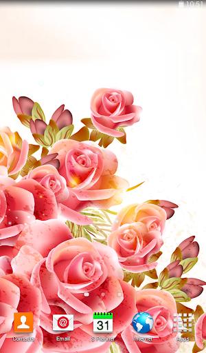 玩個人化App|玫瑰動態壁紙免費|APP試玩